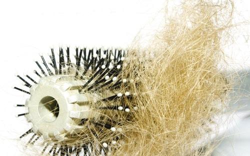 Chute de cheveux et colorations